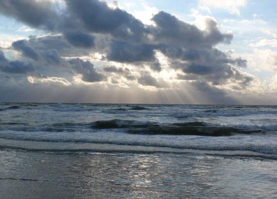 Ruwe zee.