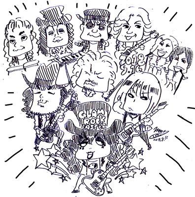 RamaAmoeba/グラムロックイースター2018!!