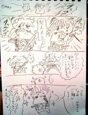 TYO/5周年ツアー名古屋MCまんが②