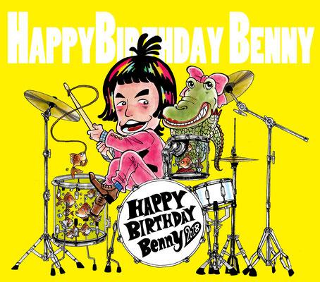 TheHIGH/ベニーさんお誕生日おめでとうイラスト2018