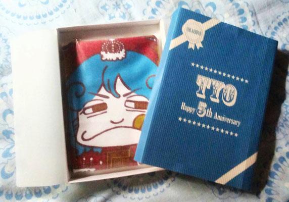TYO/5周年記念タオルとパッケージOKAHIROバージョン/2014