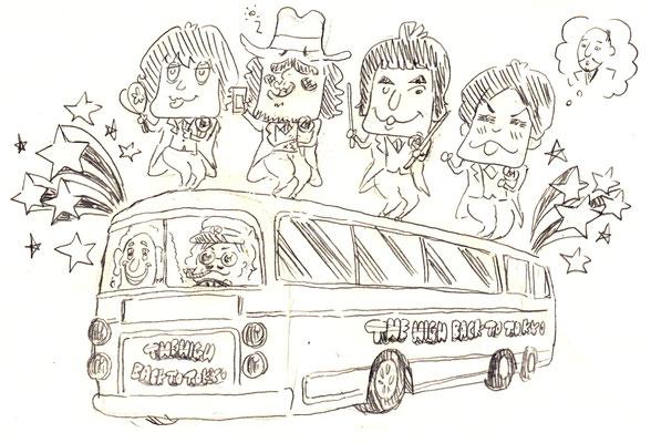 The HIGH / あのバスに乗って東京に帰るHIGH