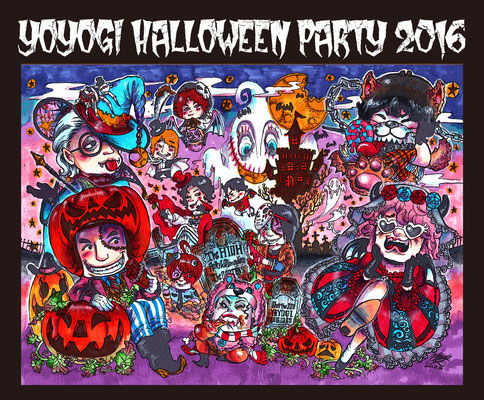 The HIGH×ROLLY&Glimrockers×ザ・キャプテンズ/2016.10.29@代々木Zher the ZOO『YOYOGI HALLOWEEN PARTY 2016』