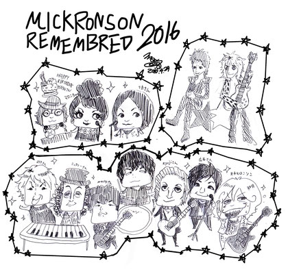 MICK RONSON REMEMBERED 2016!!