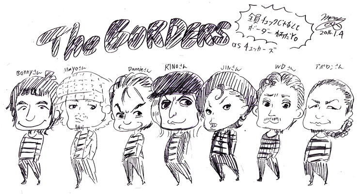 MAD&Mattyのぶっちゃけカバーナイト 2015/THE BORDERS as チェッカーズ