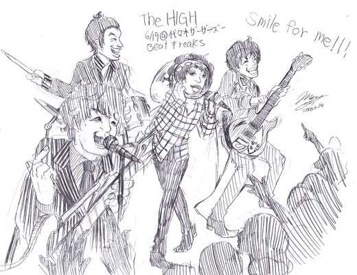 The HIGH/2016.6.16@代々木Zher the ZOO『BEAT FREAKS !!』