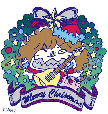 TYO/クリスマスステッカーHEESEYバージョン