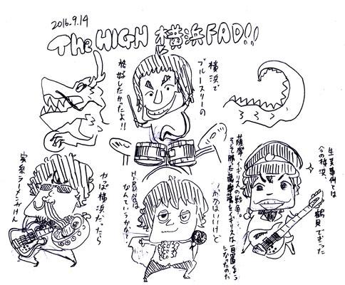 The HIGH/2016.9.14@横浜 FAD