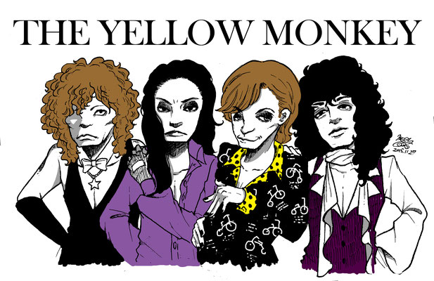 THE YELLOW MONKEY カラー