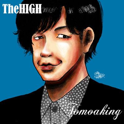 リアルに描いたTomoakingさん