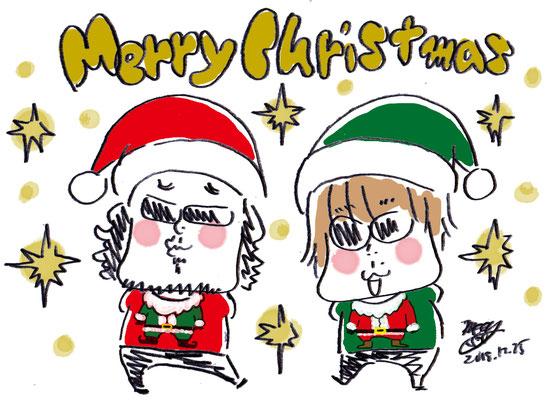 マティさんとナオキさんでメリークリスマス!!
