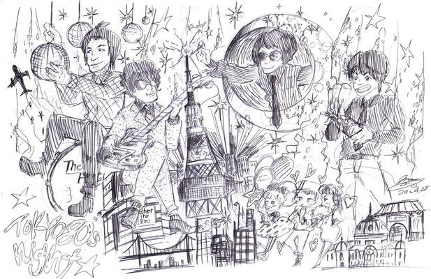 The HIGH/TOKYO 80's night
