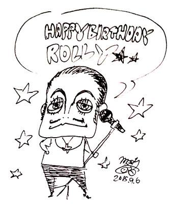 ROLLY/お誕生日おめでとうイラスト!!