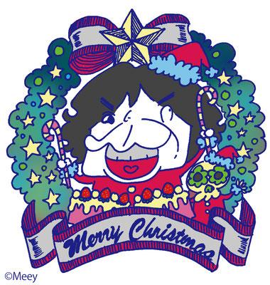 TYO/クリスマスステッカーMADバージョン