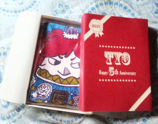 TYO/5周年記念タオルとパッケージHEESEYバージョン/2014