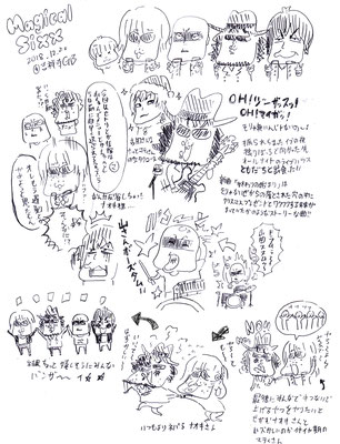 Magical Sixx /2018.12.20@吉祥寺GB らくがきメモリアル