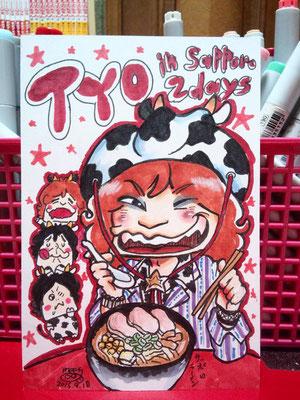TYO/札幌2days始まるぜ!!!ヒーセさんバージョン