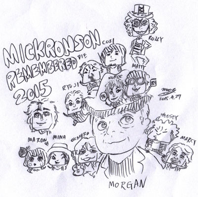MICK RONSON REMEMBERED 2015①
