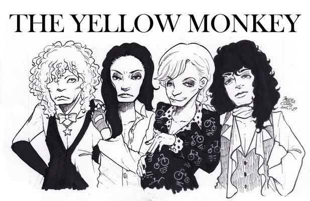 THE YELLOW MONKEY モノクロ