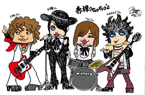赤裸々Go Go's!!