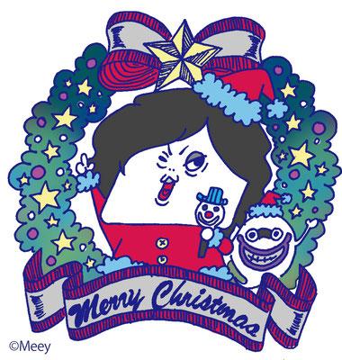 TYO/クリスマスステッカーTONYバージョン