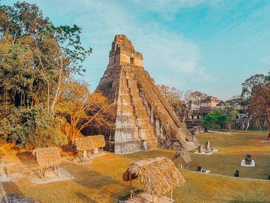 Maya-Ruine in Tikal