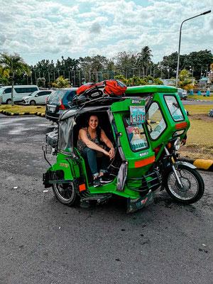 Anreise Legazpi nach Donsol