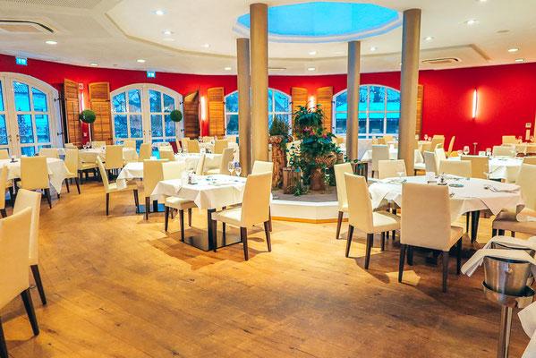 Speisesaal im Hotel DAS Ludwig