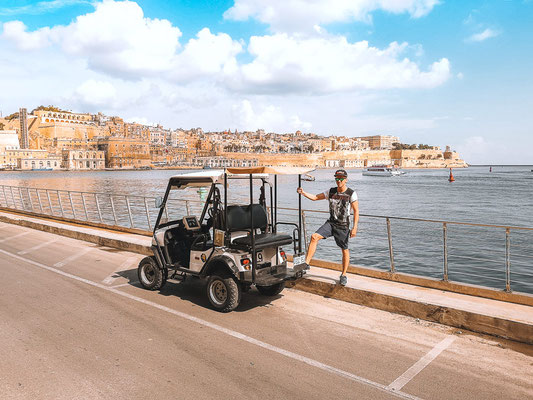 Rolling Geek Three Cities auf Malta