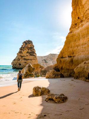 Portugal Reisetipps Praia de Marinha