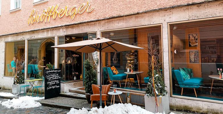 Café in der Nähe vom Stephansdom