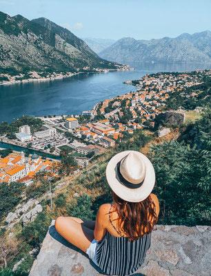 Ausblick von der Festung von Kotor