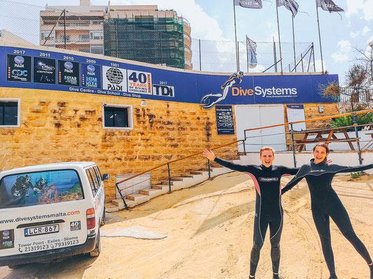 Beste Tauchschule auf Malta