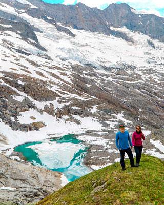 Gletschersee bei Warnsdorfer Hütte