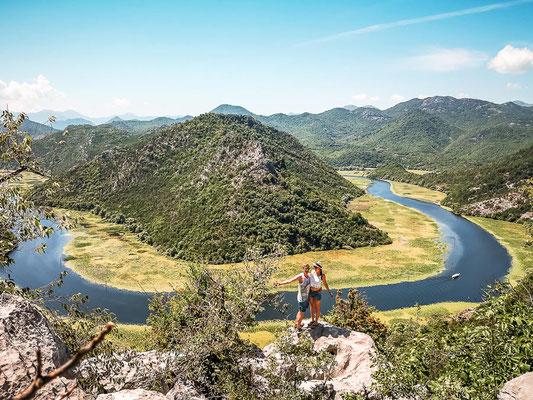 Horse Shoe Skadar Lake Montenegro