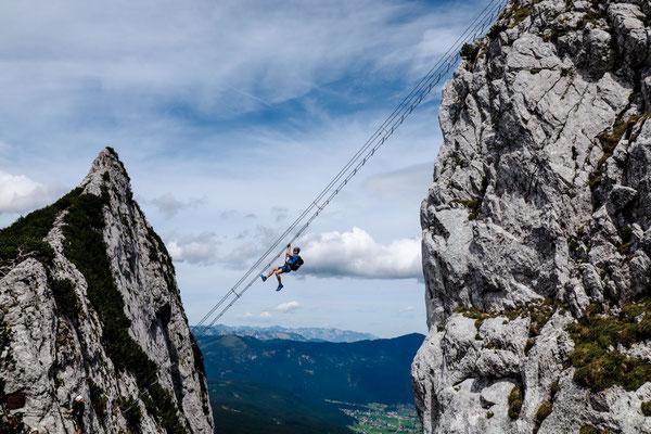Klettersteig Donnerkogel mit Himmelsleiter