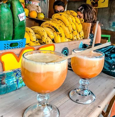 Smoothies in San Pedro La Laguna