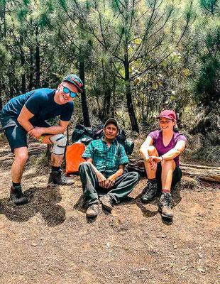 Guide für die Wanderung auf den Acatenango