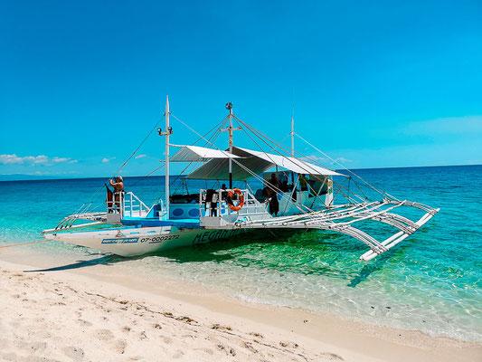 Ausflug zu Kalanggaman Island