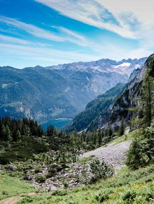 Aussicht Klettersteig Donnerkogel