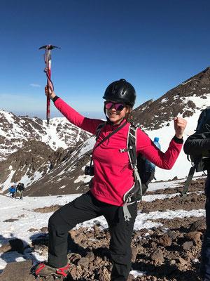 Mit Pickel und Steigeisen auf den Jebel Toubkal