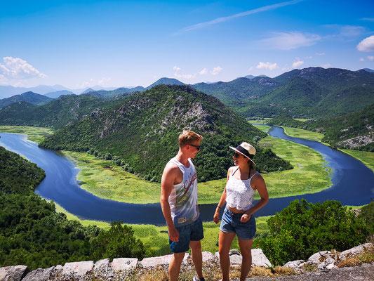 Skadar Lake in der Nähe von Budva