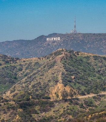 Aussicht auf Hollywood Zeichen Los Angeles
