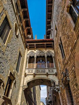 Gothisches Viertel in Barcelona