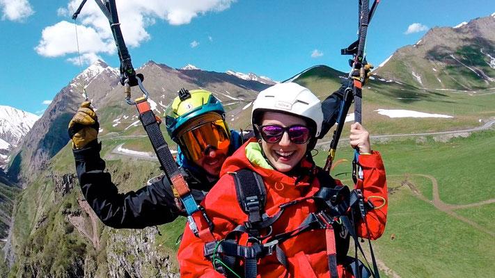 Kaukasus Georgien Paragliding