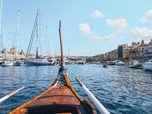Bootsfahrt von Valletta zu den Three Cities