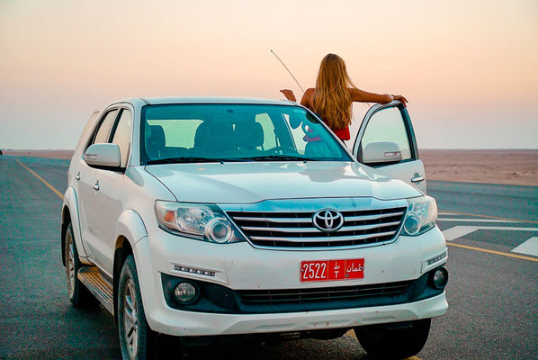 Auto mieten im Oman