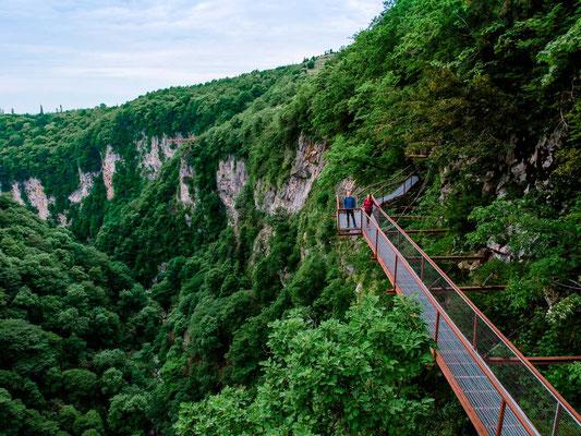 Okatse Canyon Tipps