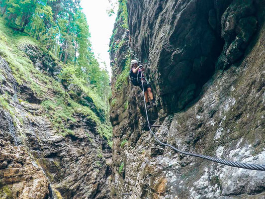 Klettersteig Postalmklamm
