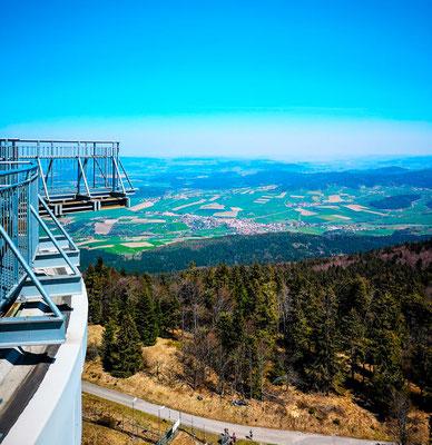 Aussichtsplatform Gipfelsteig Hohenbogen